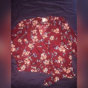 Wrap Shirt by Japna
